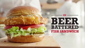 Arby's Beer Battered Fish Sandwich TV Spot, 'Reinvented' Song by YOGI - Thumbnail 5