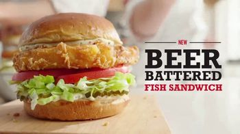Arby's Beer Battered Fish Sandwich TV Spot, 'Reinvented' Song by YOGI - 1481 commercial airings