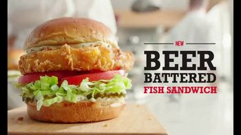 Arby's Beer Battered Fish Sandwich TV Spot, 'Where's the Ambition?' Song by YOGI - Thumbnail 9