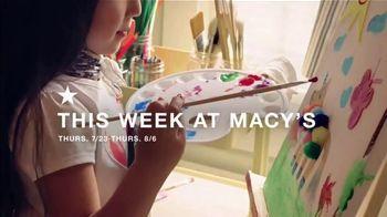 Macy's Star Money Bonus Days TV Spot, 'Back to School Essentials'