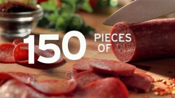 Donatos The 150 Pepperoni Pizza TV Spot, 'Edge to Edge' - Thumbnail 4
