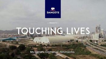 Dangote TV Spot, 'Touching Lives: Emmanuel Akhimienho' - Thumbnail 1