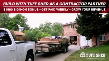 Tuff Shed TV Spot, 'Build With Us' - Thumbnail 7