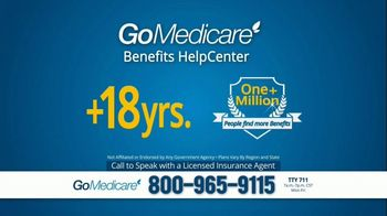 GoMedicare Benefits HelpCenter TV Spot, 'Find More Benefits' - Thumbnail 4