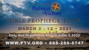 Pathway to Victory TV Spot, 'Bible Prophecy Tour 2021' - Thumbnail 10