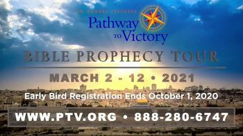 Pathway to Victory TV Spot, 'Bible Prophecy Tour 2021' - Thumbnail 9