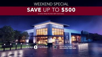 Sleep Number Weekend Special TV Spot, 'Automatically Adjusts: Save up to $500 & Free Delivery' - Thumbnail 7