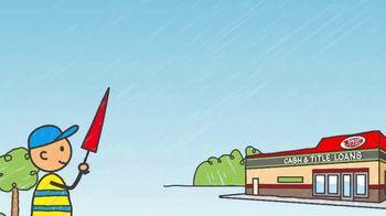 Speedy Cash TV Spot, 'On a Rainy Day' - Thumbnail 8