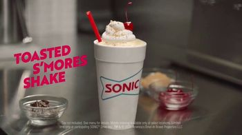 Sonic Drive-In Toasted S'mores Shake TV Spot, 'Toasted Flavor Theory' - Thumbnail 8