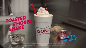 Sonic Drive-In Toasted S'mores Shake TV Spot, 'Toasted Flavor Theory' - Thumbnail 9