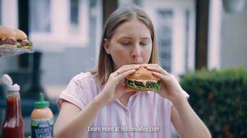 Hidden Valley Secret Sauces TV Spot, 'More Burgers' - Thumbnail 4
