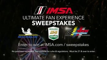 IMSA Ultimate Fan Experience Sweepstakes TV Spot, 'Trip for Two' - Thumbnail 10