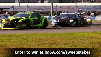 IMSA Ultimate Fan Experience Sweepstakes TV Spot, 'Trip for Two'