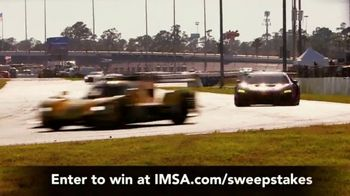 IMSA Ultimate Fan Experience Sweepstakes TV Spot, 'Trip for Two' - Thumbnail 5