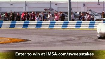 IMSA Ultimate Fan Experience Sweepstakes TV Spot, 'Trip for Two' - Thumbnail 6