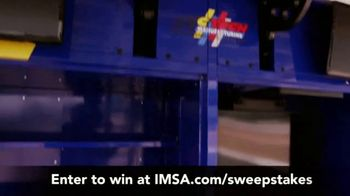 IMSA Ultimate Fan Experience Sweepstakes TV Spot, 'Trip for Two' - Thumbnail 9