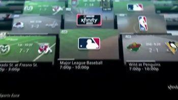 XFINITY Sports Zone TV Spot, 'Ultimate Sports Hub: Voice Remote' - Thumbnail 3