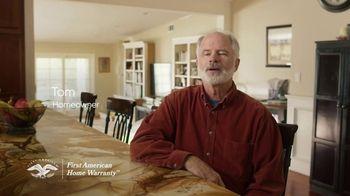 First American Home Warranty TV Spot, 'Testimonials'