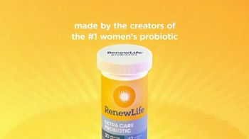 Renew Life Extra Care Probiotic TV Spot, 'Lives Right in Your Gut' - Thumbnail 10