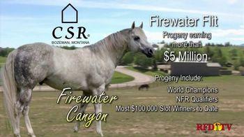 Copper Spring Ranch TV Spot, 'Performance Horse Breeding Program: Firewater Canyon' - Thumbnail 1