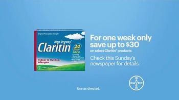 Claritin TV Spot, 'Feel the Clarity: Dog Walk: Save $30' - Thumbnail 8