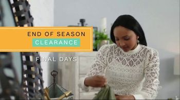 Ashley HomeStore End of Season Clearance TV Spot, 'Final Days: Upholstered Sofa'