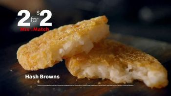 McDonald's Mix & Match 2 for $2 TV Spot, 'Breakfast Favorites: Sausage Biscuit' - Thumbnail 5
