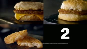 McDonald's Mix & Match 2 for $2 TV Spot, 'Breakfast Favorites: Sausage Biscuit' - Thumbnail 6