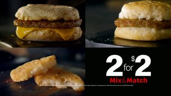 McDonald's Mix & Match 2 for $2 TV Spot, 'Breakfast Favorites: Sausage Biscuit' - Thumbnail 7