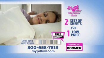 My Pillow Giza Dreams Sheets TV Spot, 'Two For One: Grey Sheets' - Thumbnail 9