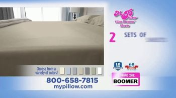 My Pillow Giza Dreams Sheets TV Spot, 'Two For One: Grey Sheets' - Thumbnail 8