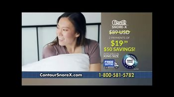 Contour Snore-X TV Spot, 'Soothing Sleep' - Thumbnail 9