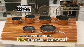 Gotham Steel Stack Master TV Spot, 'Space Saving Cookware' - Thumbnail 10