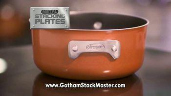 Gotham Steel Stack Master TV Spot, 'Space Saving Cookware' - Thumbnail 6