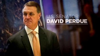 Senate Majority PAC TV Spot, 'David Perdue: Getting Busy'