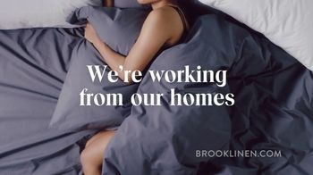 Brooklinen TV Spot, 'Working From Home' - Thumbnail 2