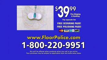Floor Police Dual Spin Mop TV Spot, 'Scrub Away Messes' - Thumbnail 9