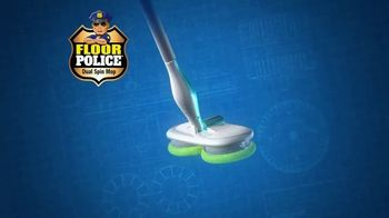 Floor Police Dual Spin Mop TV Spot, 'Scrub Away Messes' - Thumbnail 3