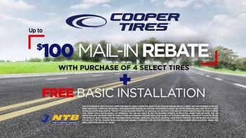 National Tire & Battery Big Brands Bonus Month TV Spot, '$100 Off Cooper Tires' - Thumbnail 8