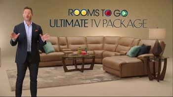 Rooms to Go Ultimate TV Package TV Spot, 'Sports Are Back' Featuring Jesse Palmer