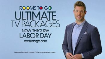 Rooms to Go Ultimate TV Package TV Spot, 'The Perfect Time' Featuring Jesse Palmer - Thumbnail 8