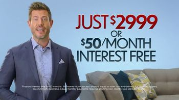 Rooms to Go Ultimate TV Package TV Spot, 'The Perfect Time' Featuring Jesse Palmer - Thumbnail 5