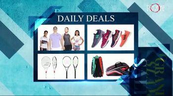 Tennis Express Grand Slam Sale TV Spot, 'Daily Deals: Extra 20% Off' - Thumbnail 2