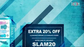 Tennis Express Grand Slam Sale TV Spot, 'Daily Deals: Extra 20% Off' - Thumbnail 7