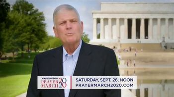 Billy Graham Evangelistic Association TV Spot, '2020 Washington Prayer March' - 54 commercial airings