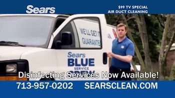 Sears Home Services $99 TV Special TV Spot, 'Remove Dust and Dirt'