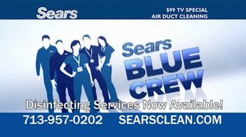 Sears Home Services $99 TV Special TV Spot, 'Remove Dust and Dirt' - Thumbnail 9