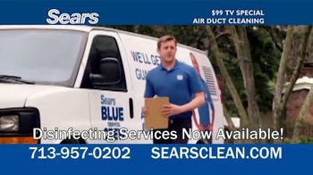 Sears Home Services $99 TV Special TV Spot, 'Remove Dust and Dirt' - Thumbnail 2