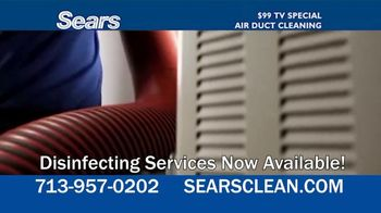 Sears Home Services $99 TV Special TV Spot, 'Remove Dust and Dirt' - Thumbnail 3