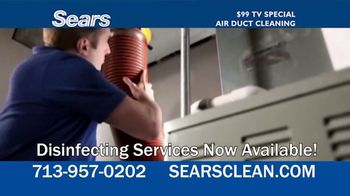 Sears Home Services $99 TV Special TV Spot, 'Remove Dust and Dirt' - Thumbnail 4